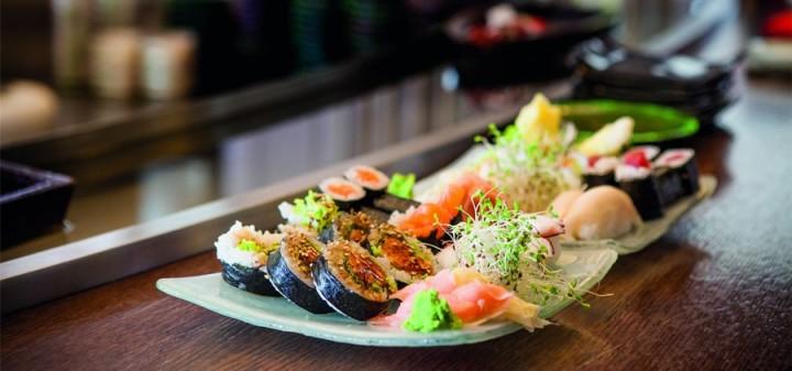 Porcja sushi - Warszawa dostawa