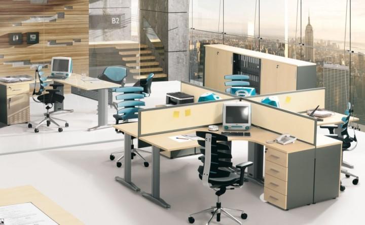 przestrzeń biurowa - fotele biurowe. Impet Meble