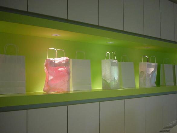 kolorowe torby papierowe - torby foliowe z nadrukiem MK-PAK