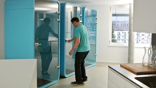 Budki telefoniczne - wygłuszanie biur. Imin booth