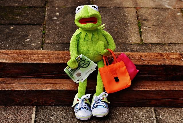 Lniana torba jest idelana na zakupy