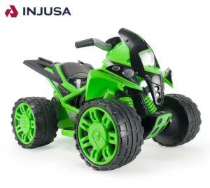 Zielony quad dla dziecka