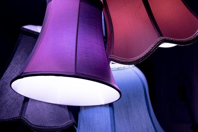 klosze do lamp kolorowe