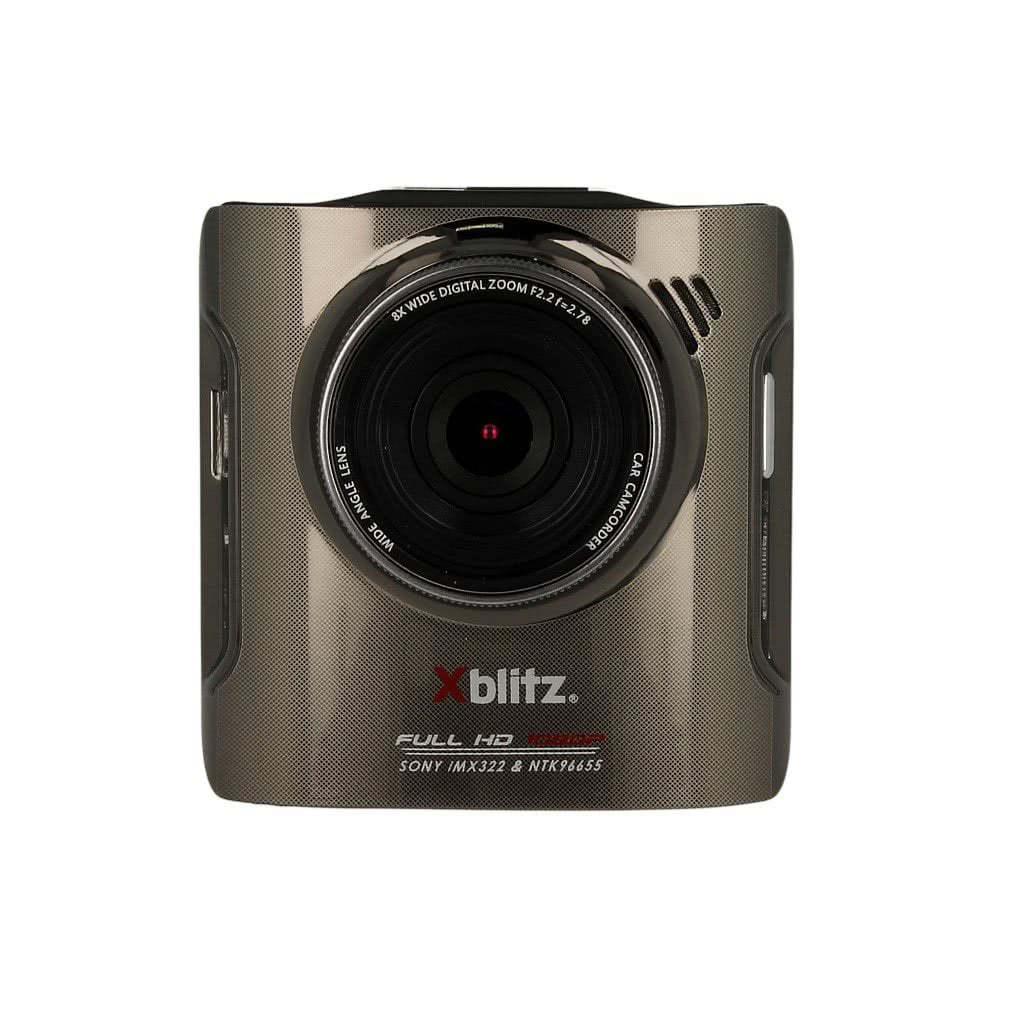 wideorejestrator xblitz p100 widok od frontu