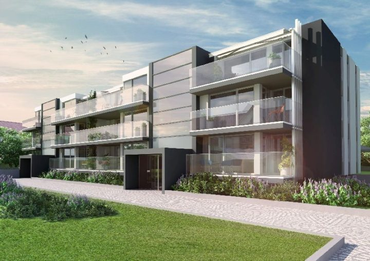 Ekskluzywne mieszkania Kraków są ulokowane w wyjśatkowym niewielkim bloku.