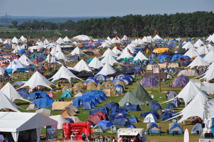 Namioty ekspozycyjne sprawdzają się przy promocji firmy