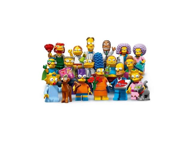 Minifigurki LEGO z ulubionymi postaciami z serialu
