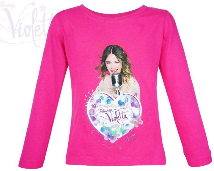 Różowa bluzka Violetty