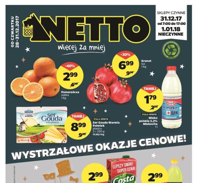 Gazetka promocyjna Netto