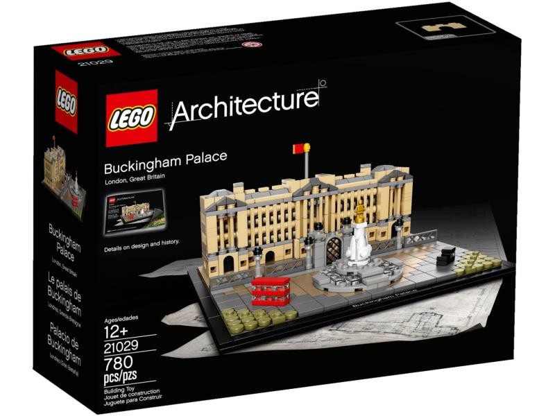klocki lego architecture pałac buckingham