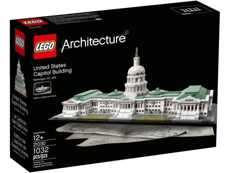klocki lego architecture kapitol stanów zjednoczonych