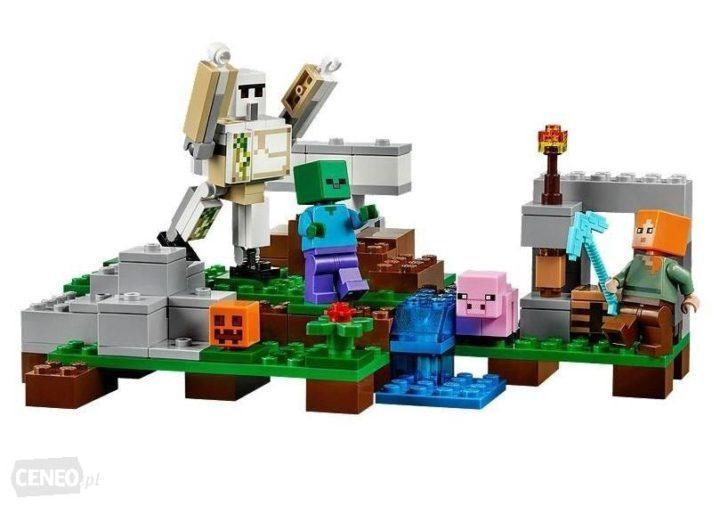 Najlepsze lego minecraft - doskonały prezent dla malucha.