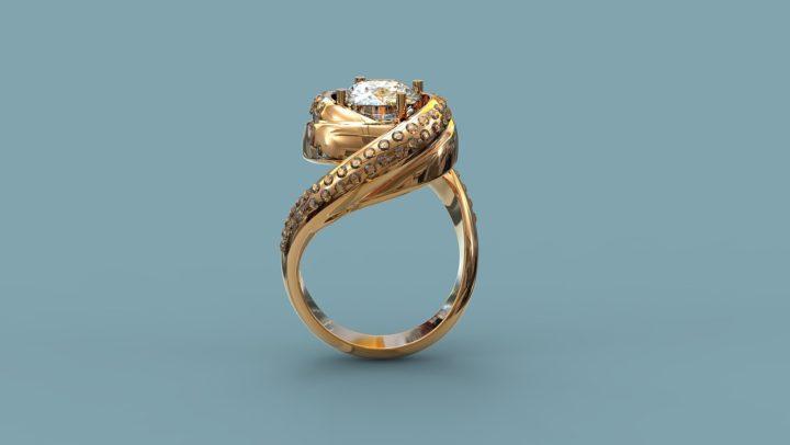 Pierścionki zaręczynowe złoto