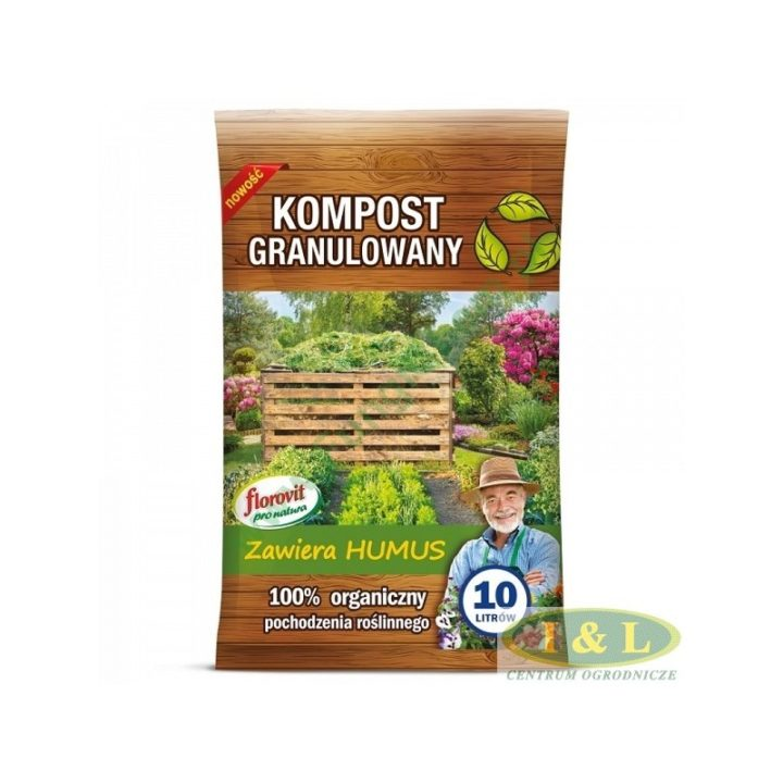 Kompost granulowany - opakowanie