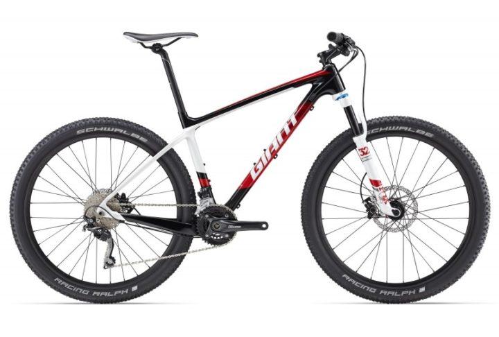 rowery giant xtc czerwony