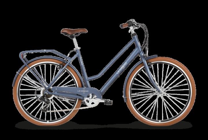 rowery miejskie niebieski
