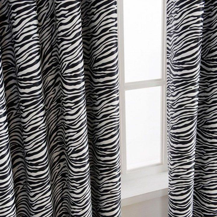 tkanina we wzór zebry