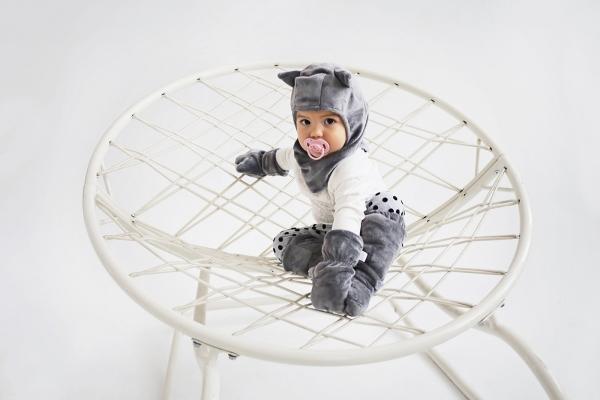 akcesoria zimowe dla niemowląt: kominiarka