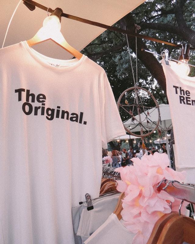 Przykładowa zaprojektowana koszulka