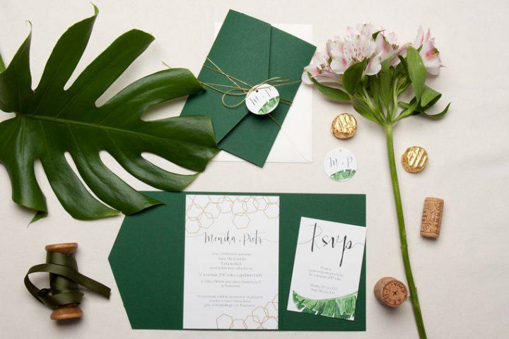unikatowe zaproszenia ślubne