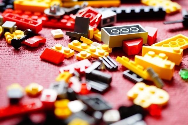 Zalety klocków lego