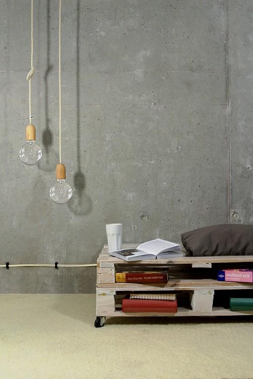lampa żarówka na kablu