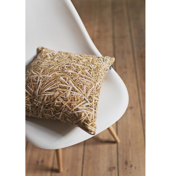 poduszka dekoracyjna słoma hayaśki industrialna ozdoba