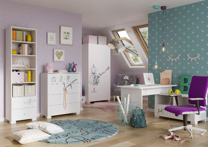 Pomysł na pokój dziecięcy w stylu Disneyland