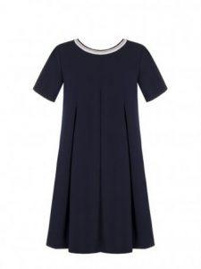 Granatowa sukienka Rinascimento