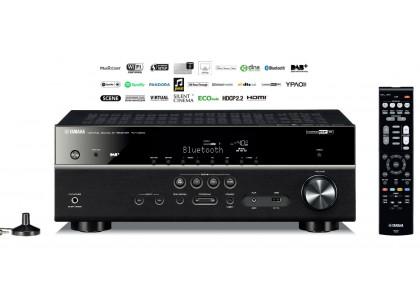 Amplituner yamaha RX-V481D to potężne urządzenie, dzięki któremu w naszym mieszkaniu może zabrzmieć muzyka w jakości studyjnej