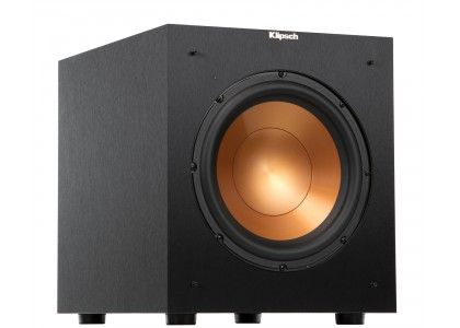 Klipsch subwoofer pozwala na odtwarzanie niskich dźwięków w dobrej jakości.