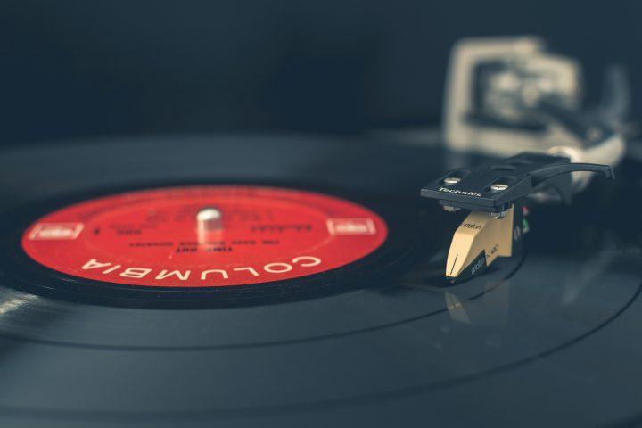 sklep z płytami gramofonowymi