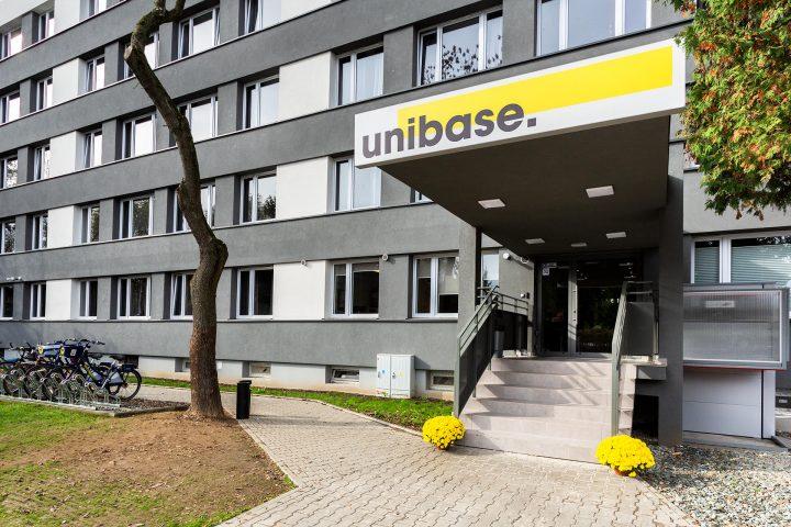 Pokój dla studenta w Krakowie - akademik Unibase