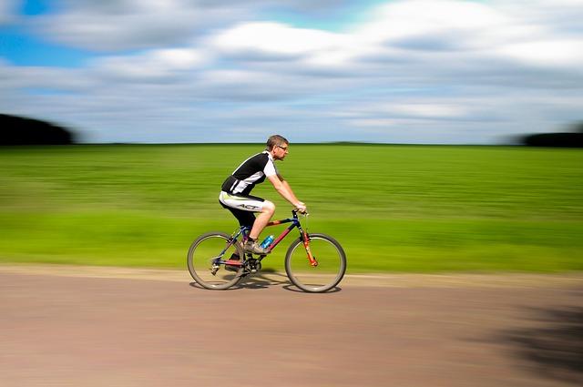 okulary sportowe dla rowerzysty