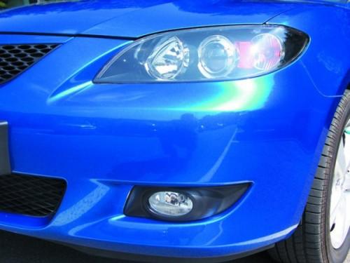 folia samochodowa - niebieska