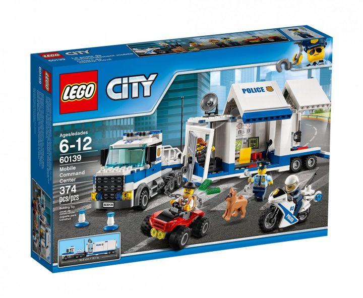 Lego 60139 zestaw dla przyszłego policjanta