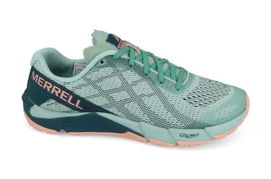 damskie buty merrell - miętowe