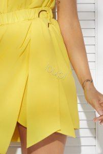 lou chicca sukienka żółta