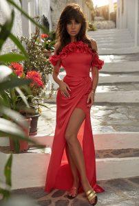 czerwna sukienka Astoria cena opinie, zamówienie