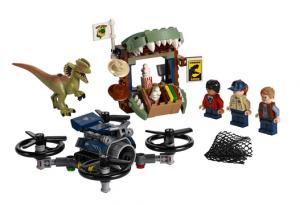 Lego jurrasic world 75934 to zestaw dla miłośników dinozaurów i kreatywnej zabawy