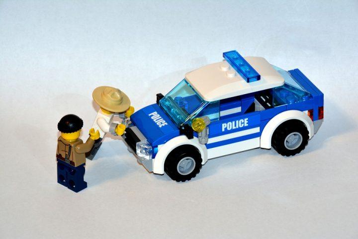 Policja - pojazdy do zabawy z klocków lego