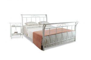 Zdjęcie przedstawia szykowne łóżko Amanda.