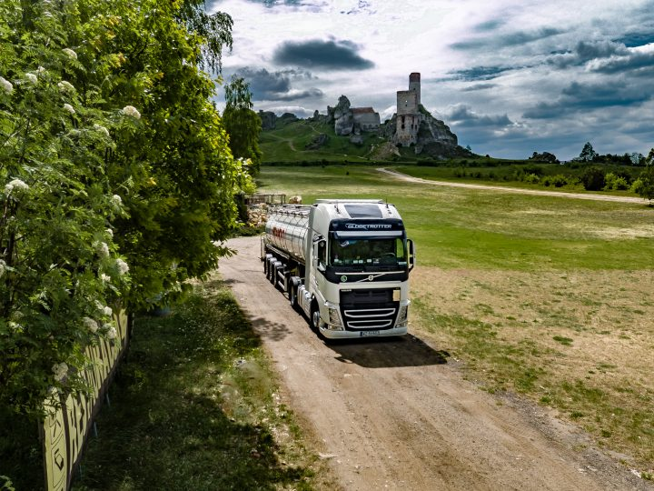 Stando - typowa ciężarówka